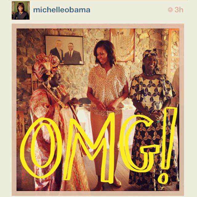 BREAKING NEWS: Michelle Obama joins Instagram!